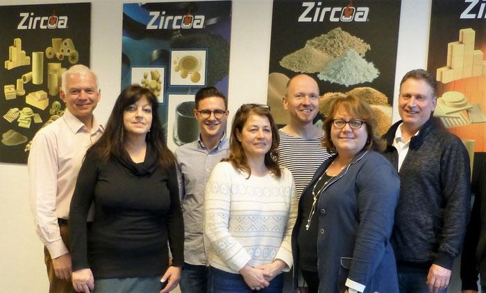 Das Team der Zircoa GmbH