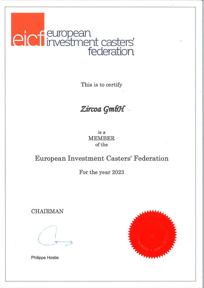 EICF Membership