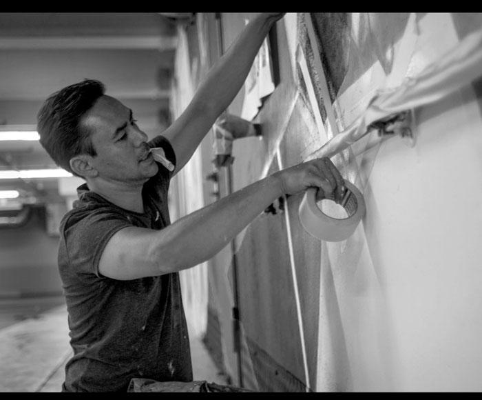 Alex Hohl, Graffiti-Artist, Kunstmaler, Zürich
