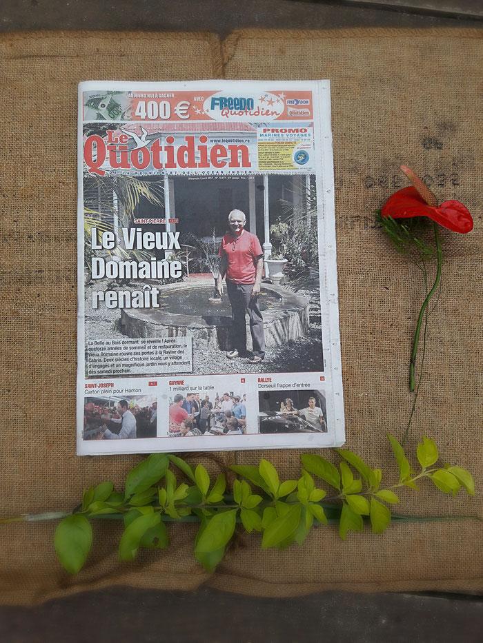 Quotidien,  Vieux domaine 2017