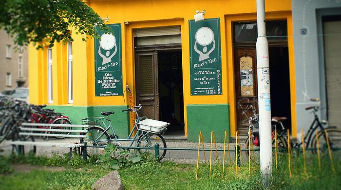 Fahrrad-Selbsthilfewerkstatt Rad und Tat in Halle (Saale)