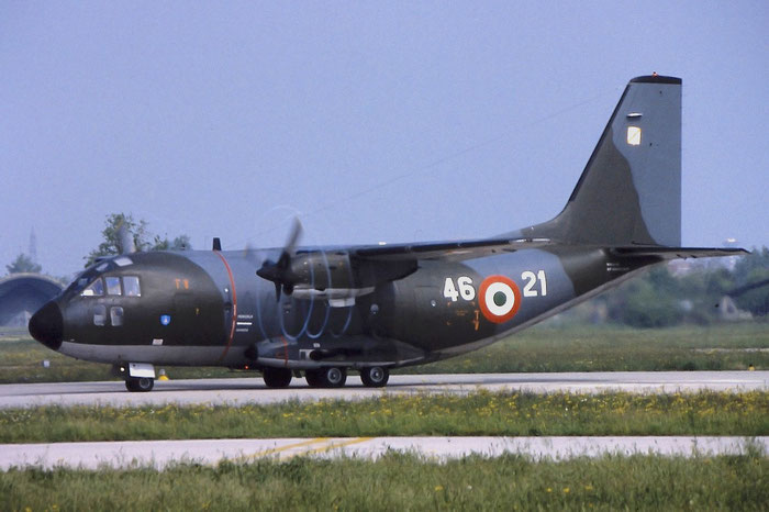 MM62119  46-21  G222TCM  4025 @ Aeroporto di Verona   © Piti Spotter Club Verona