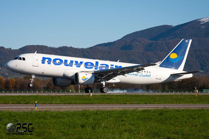 TS-INF A320-212 299 Nouvelair Tunisie @ Bergamo Airport 25.11.2013 © Piti Spotter Club Verona