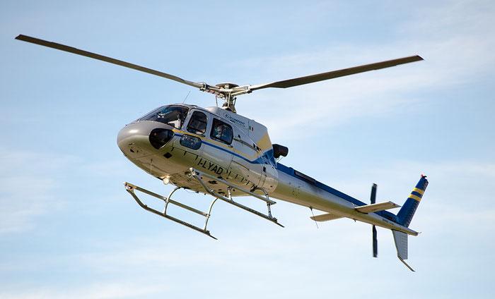 I-LYAD - Eurocopter AS 350B3 Ecureuil - Private @ Aeroporto di Bolzano © Piti Spotter Club Verona