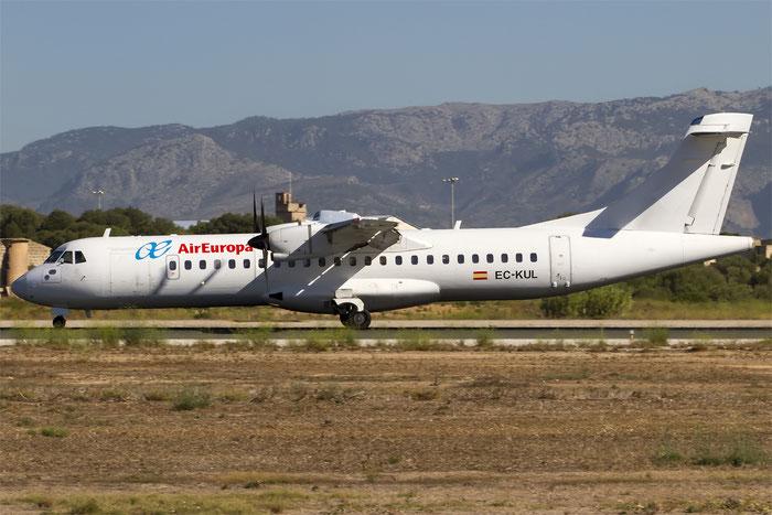 EC-KUL ATR72-212A 809 Swiftair @ Palma de Mallorca Airport 07.2014 © Piti Spotter Club Verona