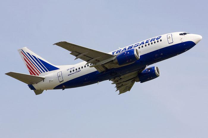 VP-BYQ B737-524 28919/3045 Transaero Airlines @ Treviso Airport 09.06.2012 © Piti Spotter Club Verona