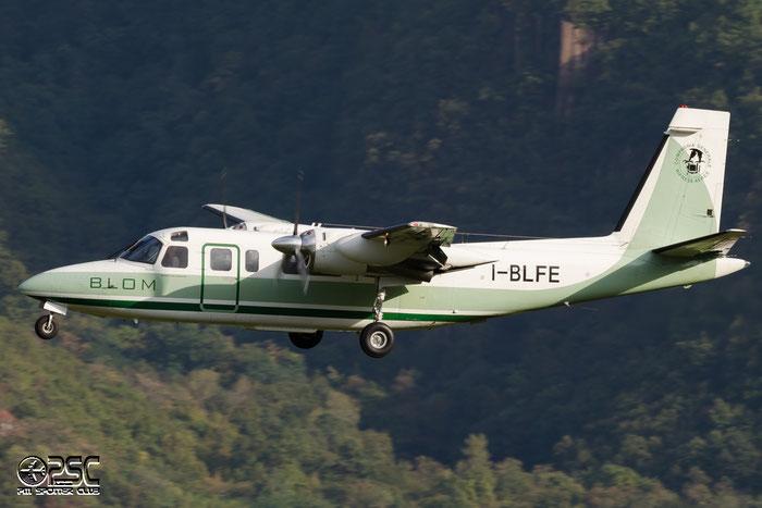I-BLFE Rockwell International 690A Turbo Commander AC90 11204 @ Aeroporto di Bolzano © Piti Spotter Club Verona