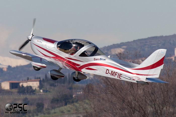 D-MFIE - Evektor-Aerotechnik EV-97 Eurostar @ Aeroporto Verona Boscomantico © Piti Spotter Club Verona