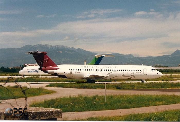 G-OBWE  BAe111-531FS  242  British World Airlines  @ Aeroporto di Verona © Piti Spotter Club Verona