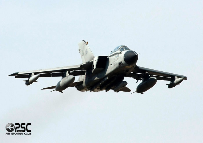 MM7075  6-07  Tornado IDS MLU  573/IS074/5086  GEA 6° Stormo @ Aeroporto di Verona   © Piti Spotter Club Verona