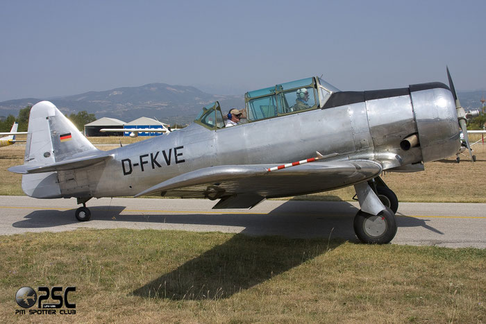 D-FKVE North American T-6 Texan T6 @ Aeroporto Verona Boscomantico © Piti Spotter Club Verona