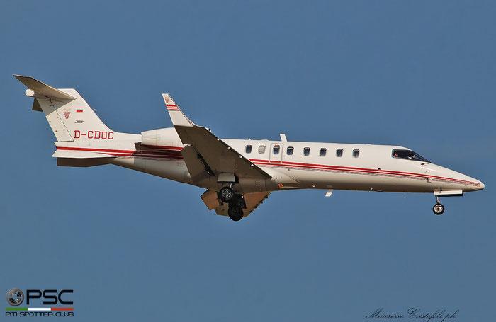 D-CDOC  Learjet 45  45-018  Jetcall GmbH  @ Aeroporto di Verona 09.2021 © Piti Spotter Club Verona