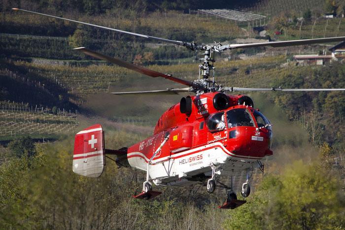 HB-XKE - Kamov Ka-32A12 Helix - Heliswiss @ Aeroporto di Trento © Piti Spotter Club Verona