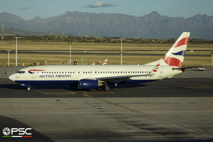 ZS-ZWR B737-85P 28382/256 Comair - Commercial Airways @ Cape Town International Airport 24.11.2017 © Piti Spotter Club Verona