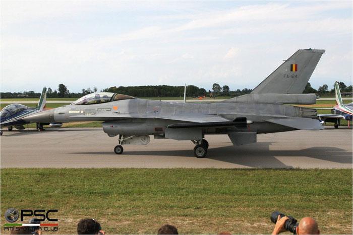 FA124   F-16AM  6H-124  10w © Piti Spotter Club Verona
