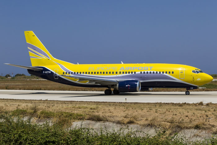 F-GZTM B737-3B3QC 24387/1693 Europe Airpost @ Rhodes Airport 07.2015 © Piti Spotter Club Verona