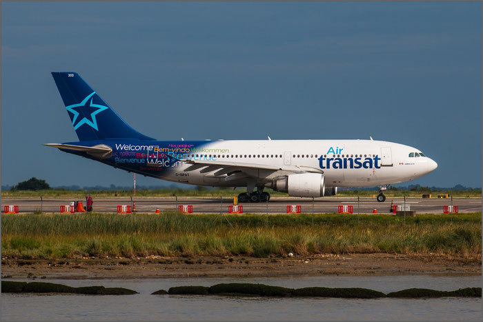 C-GPAT A310-308ET 597 Air Transat @ Venice Airport 27.04.2014 © Piti Spotter Club Verona