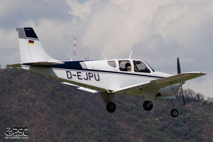 D-EJPU Beech F33A Bonanza BE33 @ Aeroporto di Bolzano © Piti Spotter Club Verona