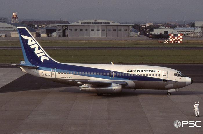 JA8457 B737-281 21771/594 Air Nippon - All Nippon Airways © 2018 courtesy of Marco Ceschi - Piti Spotter Club Verona