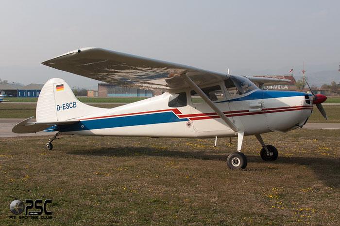 D-ESCB Cessna 170 C170 L1P @ Aeroporto Verona Boscomantico © Piti Spotter Club Verona