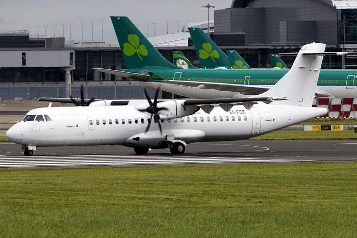 EI-FSK ATR72-212A 1326 Stobart Air @ Dublin Airport 14.08.2016 © Piti Spotter Club Verona