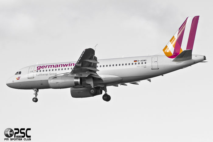 D-AGWX A319-132 5569 Germanwings @ London Heathrow Airport 07.02.2014 © Piti Spotter Club Verona