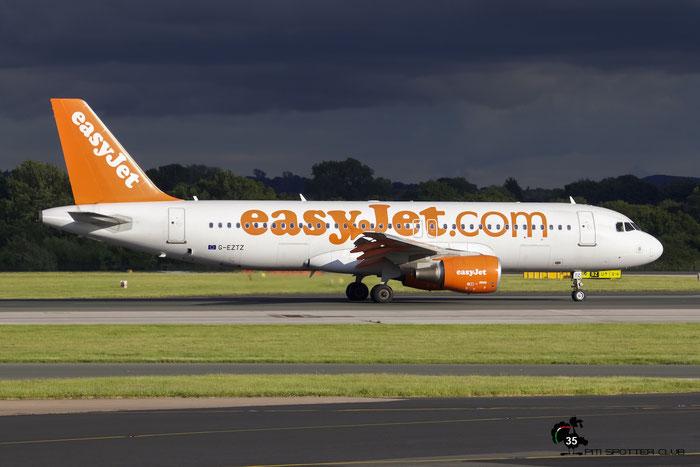G-EZTZ A320-214 4556 EasyJet Airline @ Manchester Airport 21.06.2015  © Piti Spotter Club Verona