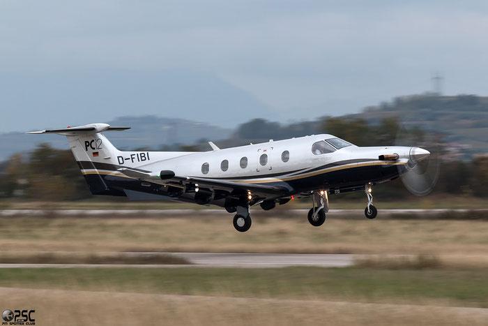 D-FIBI Pilatus PC-12/47 PC12 773 - @ Aeroporto Verona Boscomantico © Piti Spotter Club Verona