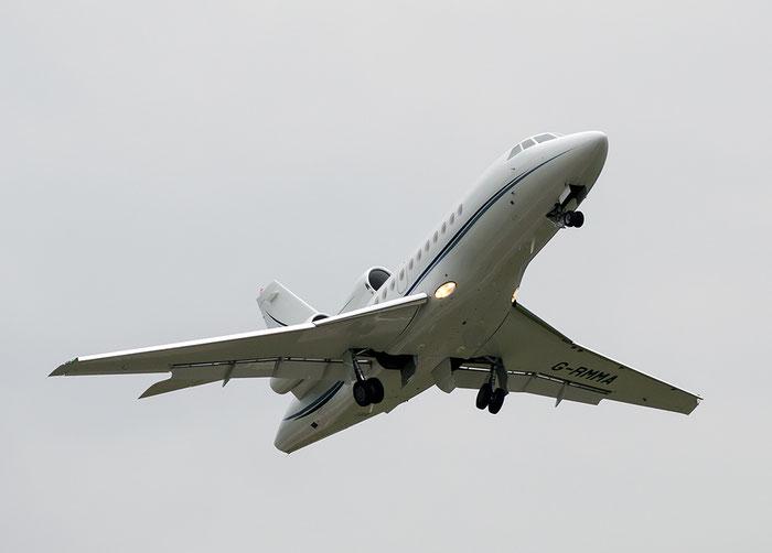 G-RMMA Falcon 900EX-EASy 189 TAG Aviation UK @ Aeroporto di Bolzano © Piti Spotter Club Verona