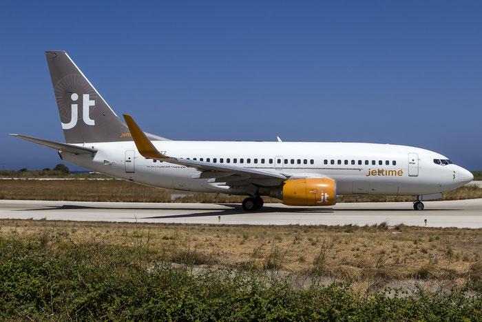 OY-JTZ B737-73S 29083/392 Jet Time @ Rhodes Airport 07.2015 © Piti Spotter Club Verona