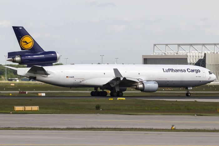 D-ALCK MD-11F 48803/643 Lufthansa Cargo @ Frankfurt Airport 08.05.2015  © Piti Spotter Club Verona