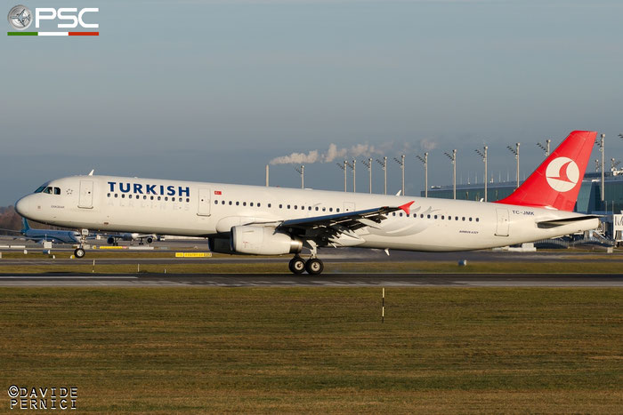 TC-JMK A321-231 3738 Turkish Airlines - THY Türk Hava Yollari @ Munich Airport 13.12.2015 © Piti Spotter Club Verona