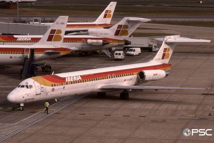 EC-EYB MD-87 49838/1733 Iberia Líneas Aéreas de España © 2018 courtesy of Marco Ceschi - Piti Spotter Club Verona