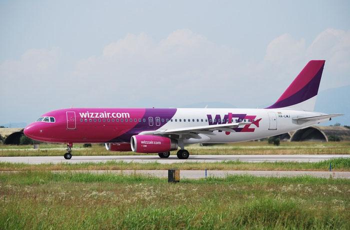 HA-LWJ A320-232 4683 Wizz Air