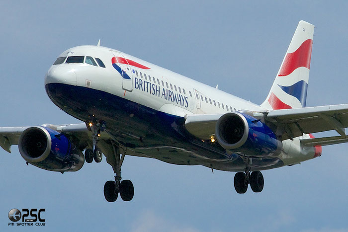 G-DBCH A319-131 2697 British Airways @ London Heathrow Airport 12.06.2014 © Piti Spotter Club Verona