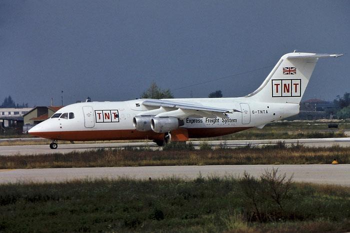G-TNTA  BAe146-200QT  E2056  Air Foyle (TNT Express)  @ Aeroporto di Verona © Piti Spotter Club Verona
