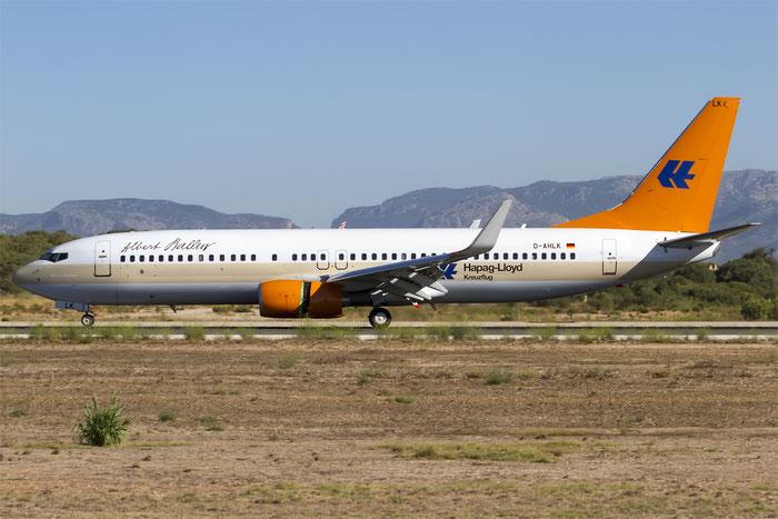 D-AHLK B737-8K5 35143/2763 TUIfly @ Palma de Mallorca Airport 07.2014 © Piti Spotter Club Verona