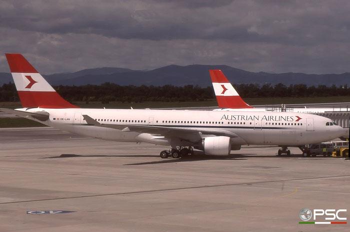 OE-LAN A330-223 195 Austrian Airlines © 2018 courtesy of Marco Ceschi - Piti Spotter Club Verona