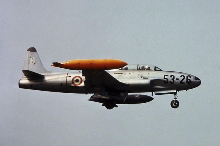 MM55-2980  9-33 (53-26)   T-33A-1-LO  580-9477 @ Aeroporto di Verona   © Piti Spotter Club Verona