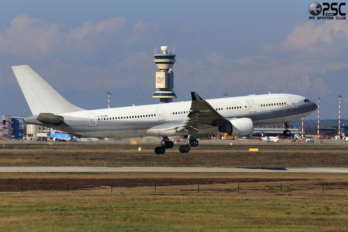 EI-EZL A330-223 802 Meridiana @ Milano Malpensa Airport 24.02.2014 © Piti Spotter Club Verona