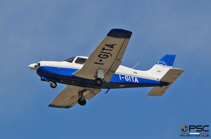I-GITA - Private Piper PA-28 Arrow. @ Aeroporto di Verona  © Piti Spotter Club Verona