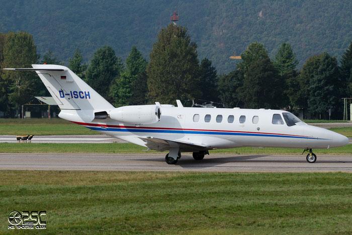 D-ISCH Ce525A 525A-0052 Gerhard Schubert GmbH @ Aeroporto di Bolzano © Piti Spotter Club Verona