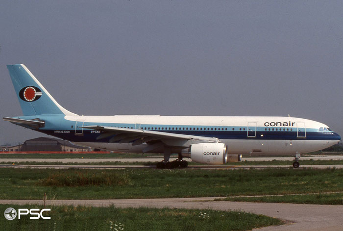 OY-CNA A300B4-120 79 Conair of Scandinavia © courtesy of Marco Ceschi - Piti Spotter Club Verona