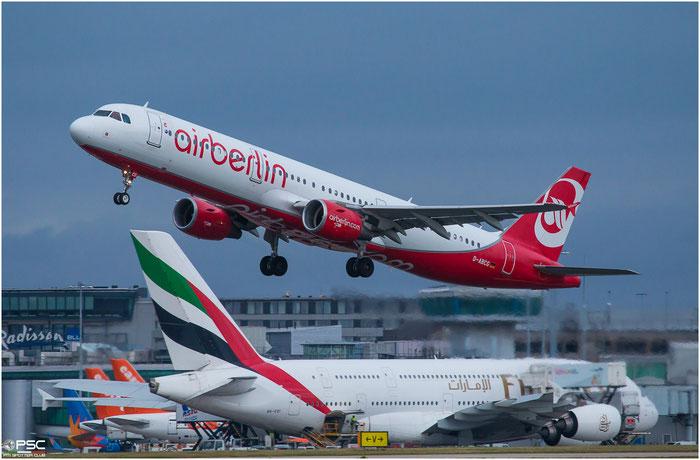D-ABCG  A321-211  1988  Air Berlin @ Manchester 2015 © Piti Spotter Club Verona