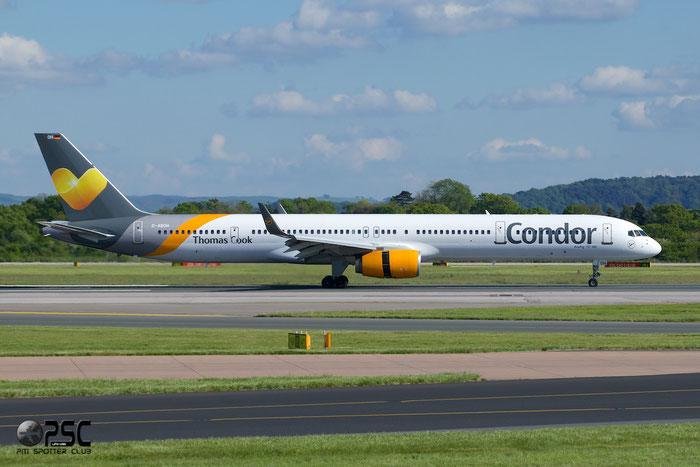 D-ABOH B757-330 30030/855 Condor Flugdienst @ Manchester Airport 13.05.2014 © Piti Spotter Club Verona