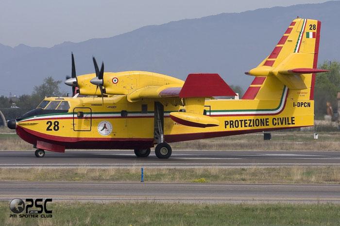 Protezione Civile - Canadair CL-415 - I-DPCN @ Aeroporto di Verona © Piti Spotter Club Verona