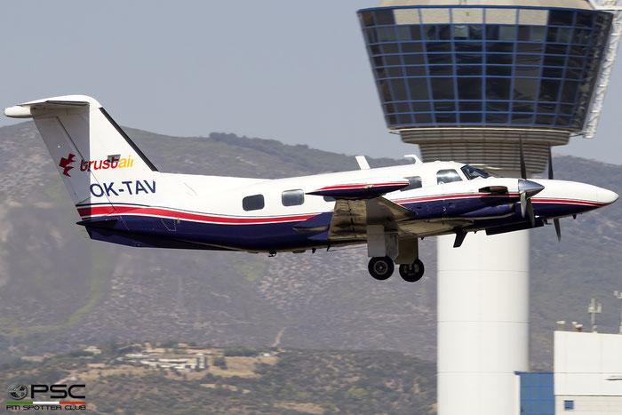OK-TAV  PA-42  42-8001041  TrustAir @ Athens 2019 © Piti Spotter Club Verona