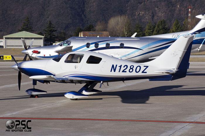 N1280Z Columbia Aircraft Mfg LC41-550FG COL4 41654 @ Aeroporto di Bolzano © Piti Spotter Club Verona