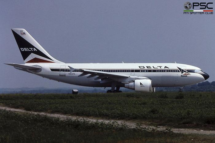 N815PA A310-324ET 451 Delta Air Lines © Piti Spotter Club Verona