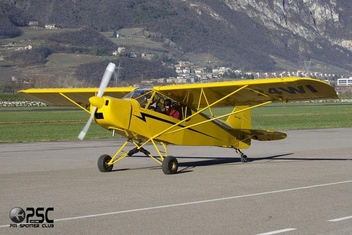F-JWUH/24 WI - Zlin Aviation Savage Cub @ Aeroporto di Trento © Piti Spotter Club Verona